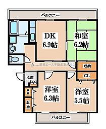 グランドメゾンラフォーレ[2階]の間取り