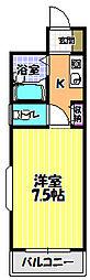 ロアール尾崎[2階]の間取り