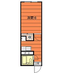 ライフステージ広瀬安岡[1-103号室]の間取り