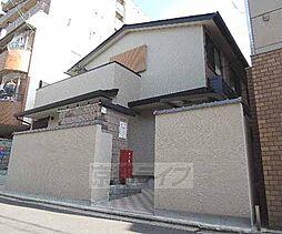 京都府京都市下京区岩上通高辻下る吉文字町の賃貸アパートの外観