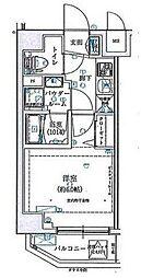 SHOKEN Residence横浜伊勢町 5階1Kの間取り