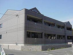 愛知県豊明市間米町間米の賃貸アパートの外観