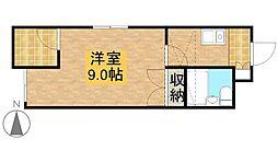 シャトレ富塚[2階]の間取り