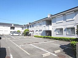 大阪府泉佐野市上瓦屋の賃貸アパートの外観