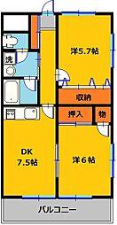 フローラ大塚弐番館[2階]の間取り