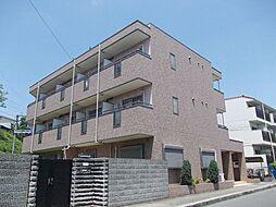 兵庫県西宮市甲東園2丁目の賃貸マンションの外観