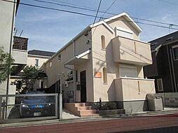 東京都目黒区五本木2丁目の賃貸アパートの外観