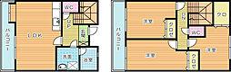 [テラスハウス] 福岡県北九州市小倉南区守恒2丁目 の賃貸【/】の間取り