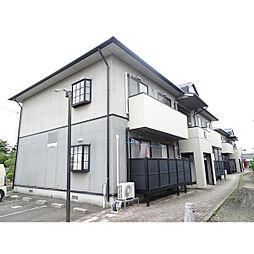 新潟県新潟市東区竹尾1丁目の賃貸アパートの外観