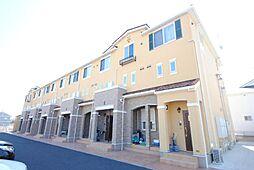 埼玉県越谷市御殿町の賃貸アパートの外観