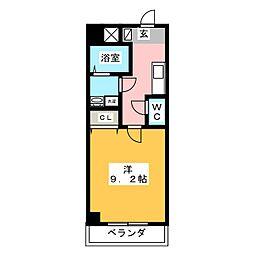 仮)富士永田町マンション[6階]の間取り