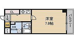 レジデンス野田阪神[3階]の間取り