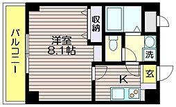 ボンヌール菊野台[3階]の間取り
