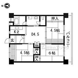 木幡駅 5.4万円