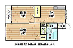 シェリール井堀通り[7階]の間取り