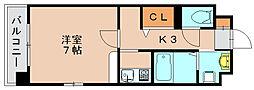 スヴニール3[1階]の間取り