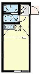 ユナイトステージジェットストリーム[1階]の間取り