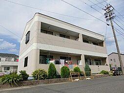 愛知県名古屋市西区城町の賃貸アパートの外観
