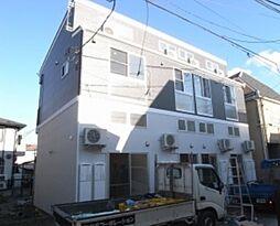 神奈川県横浜市鶴見区市場西中町の賃貸アパートの外観