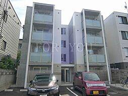 北海道札幌市豊平区美園七条4の賃貸マンションの外観