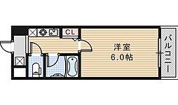 エスポワール昭和町[202号室]の間取り