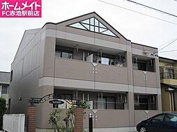 愛知県名古屋市緑区鳥澄2丁目の賃貸アパートの外観