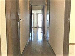 玄関からリビングにつながる廊下 2019.7