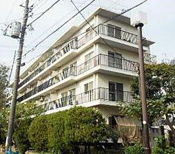 東京都大田区西嶺町の賃貸マンションの外観