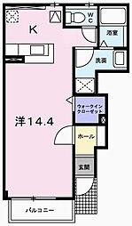 モーニンググローブ[1階]の間取り