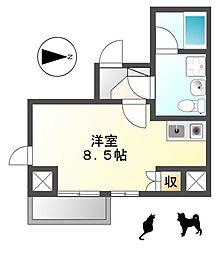 M'sマンション[7階]の間取り