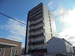 北海道千歳市本町1丁目の賃貸マンションの外観