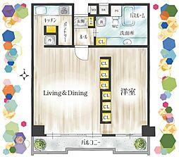暮らしやすい広さ70平米、光溢れる南向きのお部屋です。