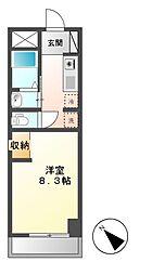 シフォン日和[2階]の間取り