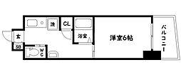 内淡路町新築マンション[9階]の間取り