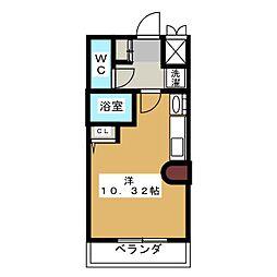 ファンタジア21[3階]の間取り