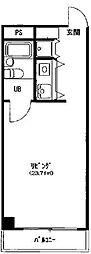 ダイヤモンドハウス西院[N303号室号室]の間取り