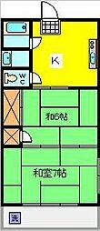 第3池田マンション[3階]の間取り