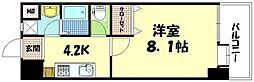 SEIWA BLD(楠木町) 1階1Kの間取り
