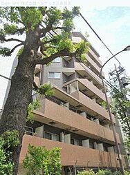 東京都世田谷区野沢の賃貸マンションの外観