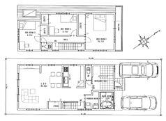 建物プラン例:3LDK