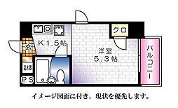 BAUHAUS広島駅前[603号室]の間取り