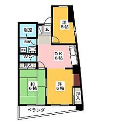 ReNaXiA tenpaku[2階]の間取り