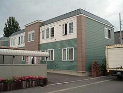 北海道札幌市北区篠路三条8丁目の賃貸アパートの外観