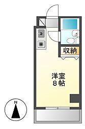 ラフィネ新栄[10階]の間取り