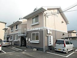 岡山県岡山市北区今保丁目なしの賃貸アパートの外観