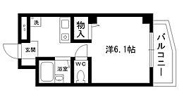 夙川ハイツAIOI[203号室]の間取り