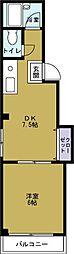ソレイユIII[5階]の間取り
