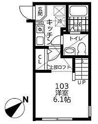 仮)シティハイツ相模が丘[1階]の間取り