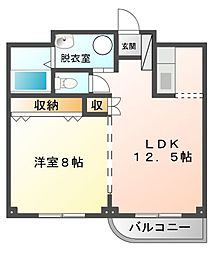 フルフィルメント[5階]の間取り