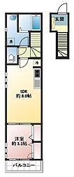 イズミヒルトップアパートメント[2階]の間取り